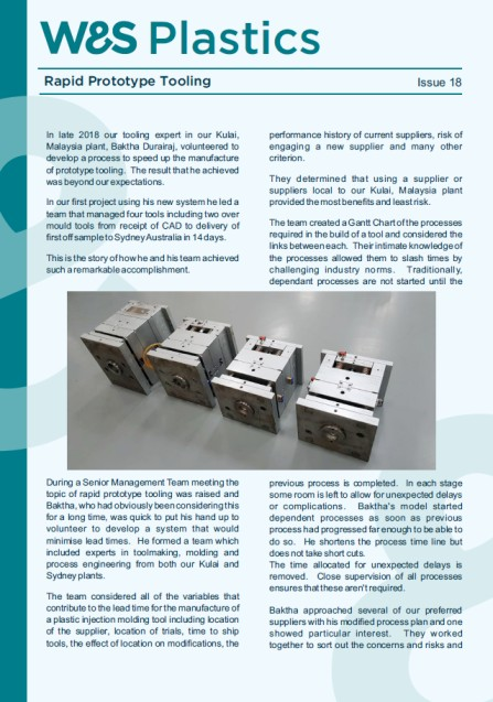 Rapid Prototype Tooling and Part Case Study PDF