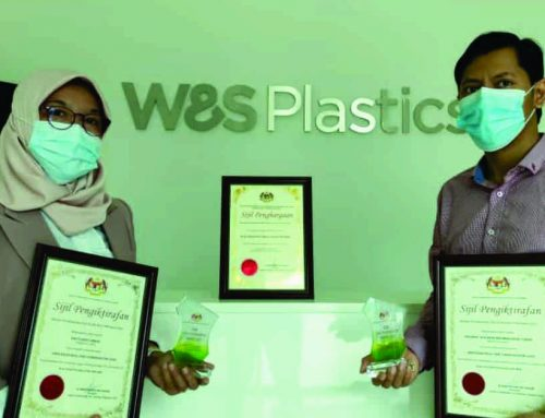Malaysian Government Issues Award to W&S Plastics (Malaysia)